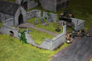Der fast fertige Friedhof