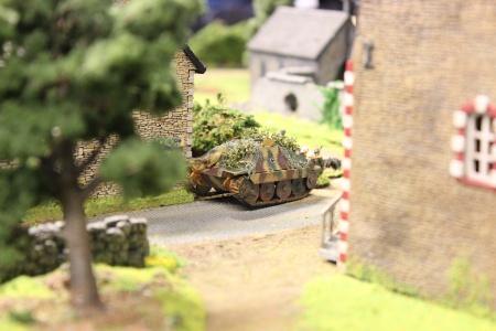 Ein Jagdpanzer 38(t), auch Hetzer genannt.
