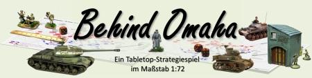 Behind Omaha - Ein Tabletop-Strategiespiel im Maßstab 1:72